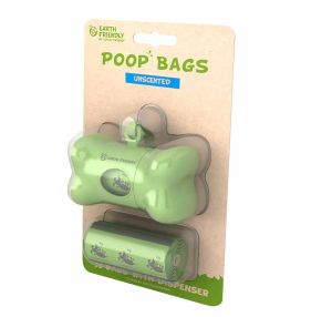 Earth Friendly Poop Bag Dispenser